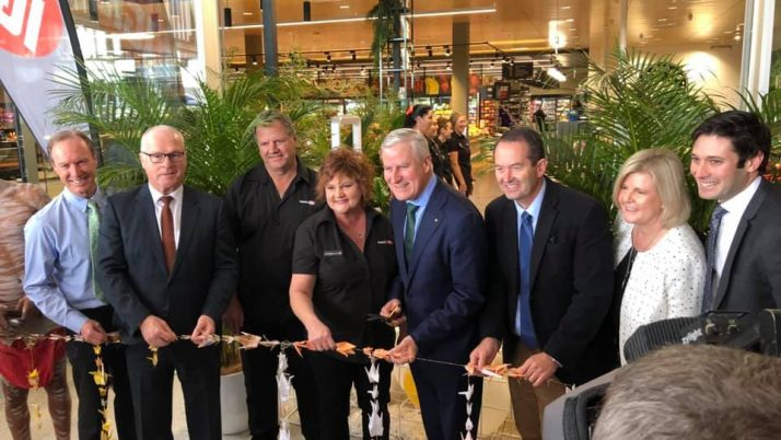 Opening of Stockland, Baringa