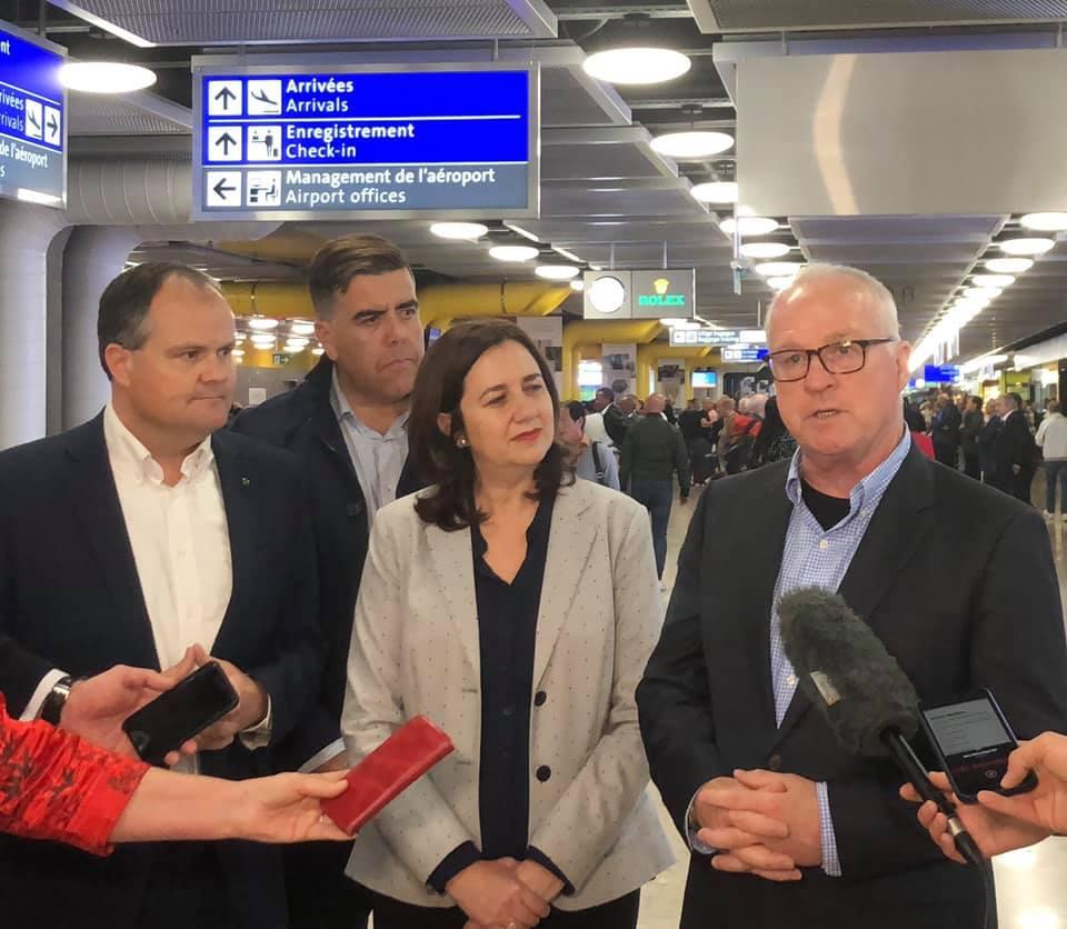 South East Queensland 2032 Olympic Bid Delegation to Geneva