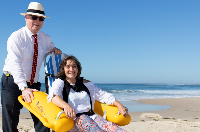 Improved Accessibility to Sunshine Coast Beaches