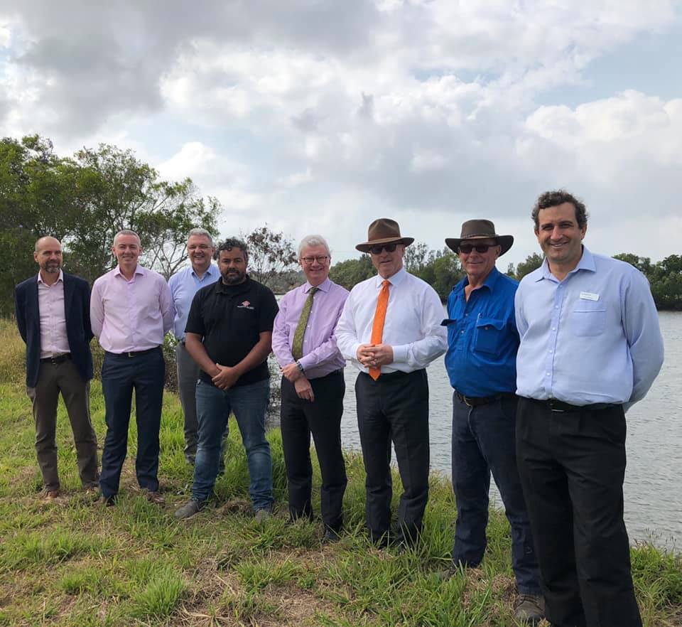 Queensland Governor, the Hon Paul de Jersey and Mrs de Jersey visiting environmental sites