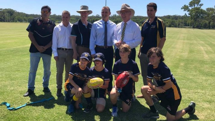 Opening of Meridan Sporting Fields Complex Upgrade