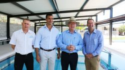 Opening of upgraded Beerwah Aquatic Centre