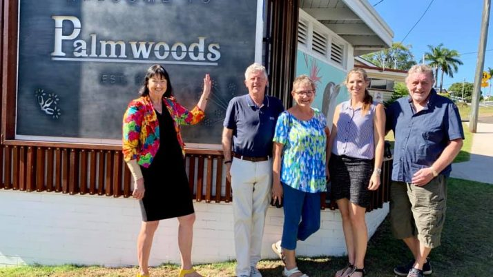 A splash of colour for Palmwoods
