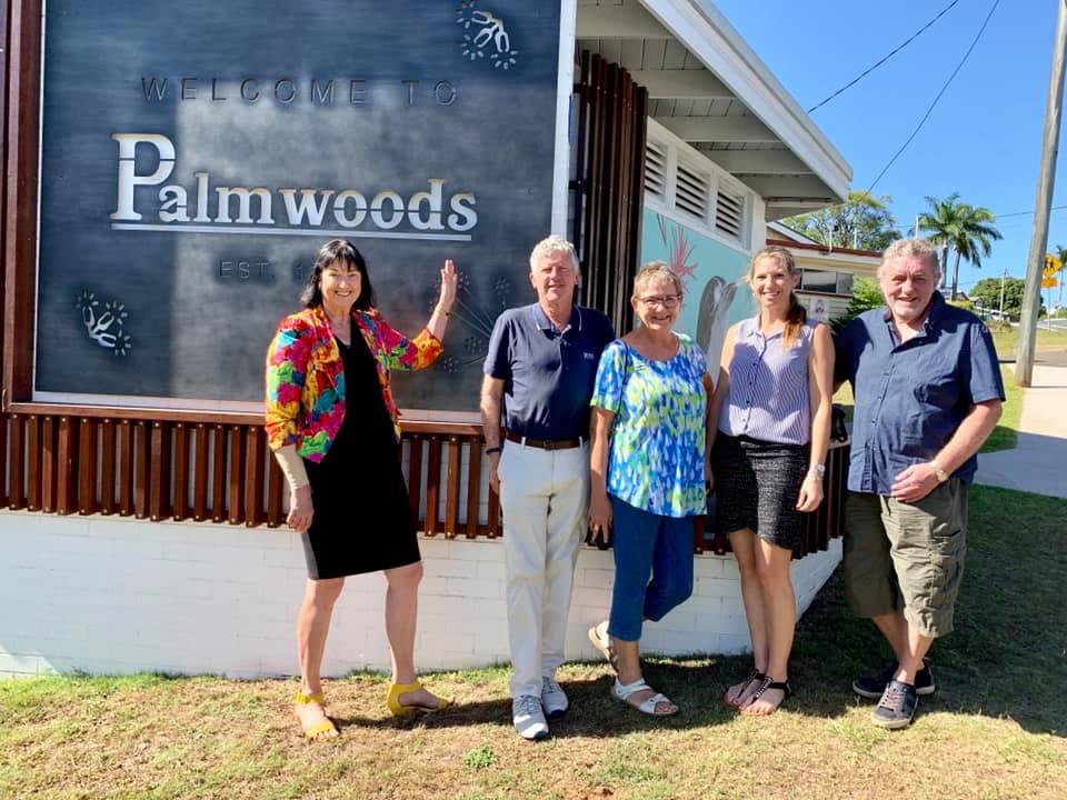 A splash of colour for Palmwoods