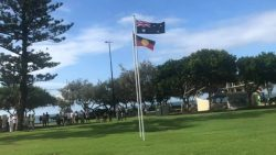 Australia Day Flag Raising Ceremony