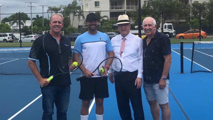 Opening of the upgraded Maroochydore Tennis Courts